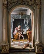 Jan Steen A Woman at her Toilet (mk25) oil painting picture wholesale