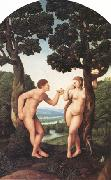 Jan van Scorel adam and Eve (nn03) oil painting picture wholesale