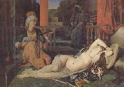 Jean-Auguste Dominique Ingres Odalisque avec esclave (mk32) oil painting picture wholesale