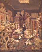 Johann Zoffany Charles Towneley's Library in Park Street (nn03) oil painting picture wholesale