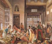 John Frederick Lewis An Intercepted Correspondance,Cairo (mk32) oil painting picture wholesale