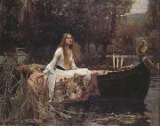 John William Waterhouse The Lady of Shalott (nn03) oil painting picture wholesale