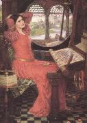 John William Waterhouse i and Half-sick of shadows said the Lady of Shalott (mk41) oil painting artist