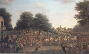 John Wootton George III's Procession to the Houses of Parliament (mk25) oil painting picture wholesale