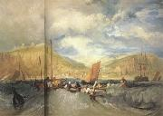 Joseph Mallord William Turner Hastings:Deep-sea fishing (mk31) oil painting picture wholesale