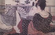 Kitagawa Utamaro Loves (from the Poem of the Pillow) (nn03) oil painting artist