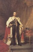 Luke Fildes George V 1912 (mk25) oil painting picture wholesale
