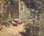 Max Slevogt Sunny Garden Corner in Neukastel (nn02) oil painting picture wholesale