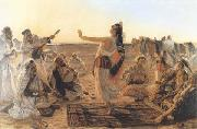 Otto Pilny Spectacle dans le desert (mk32) oil painting picture wholesale