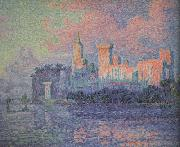 Paul Signac The Papal Palace Avignon (nn03) oil painting picture wholesale