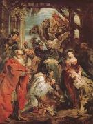Peter Paul Rubens THe Adoration of The Magi (mk27) oil painting picture wholesale