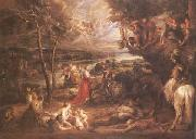 Peter Paul Rubens Landscape with St George (mk25) oil painting picture wholesale