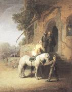 REMBRANDT Harmenszoon van Rijn The good Samaritan (mk33) oil painting picture wholesale