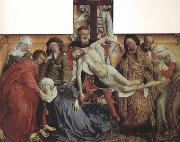 Rogier van der Weyden The Descent from the Cross (nn03) oil painting picture wholesale