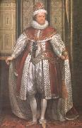 SOMER, Paulus van James I (mk25) oil painting artist