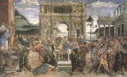 Sandro Botticelli Punishment of the Rebels (mk36) oil painting picture wholesale