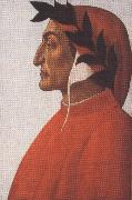 Sandro Botticelli Portrait of Dante Alighieri (mk36) oil painting picture wholesale
