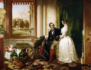 Sir Edwin Landseer Windsor Castle in Modern Times (mk25) oil painting