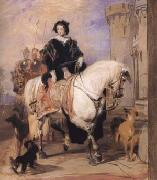 Sir Edwin Landseer Queen Victoria on Horseback (mk25 oil painting picture wholesale