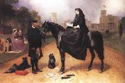 Sir Edwin Landseer Queen Victoria at Osborne House (mk25) oil painting