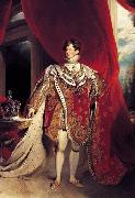 Sir Thomas Lawrence George IV (mk25) oil painting picture wholesale