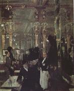 Sir William Orpen The Cafe Royal in London (nn03) oil painting