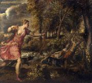 Titian The Death of Actaeon (mk25) oil painting picture wholesale