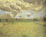 Vincent Van Gogh Landscape under a Stormy Sky (nn04) oil painting picture wholesale