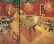 Vincent Van Gogh The Night Cafe in the Place Lamartine in Arles (nn04) oil painting picture wholesale