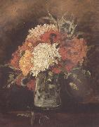 Vincent Van Gogh Vase with Carnations (nn04) oil painting picture wholesale