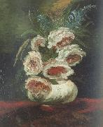 Vincent Van Gogh Vase wtih Peonies (nn04) oil painting picture wholesale