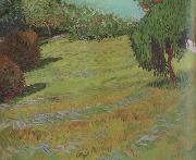 Vincent Van Gogh Sunny Lawn in a Public Pack (nn04) oil painting picture wholesale