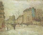 Vincent Van Gogh Boulevard de Clichy (nn04) oil painting picture wholesale