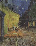 Vincent Van Gogh The Cafe Terrace on the Place du Forum,Arles,at Night (nn04) oil painting picture wholesale
