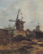 Vincent Van Gogh Le Moulin de Blute-Fin (nn04) oil painting picture wholesale