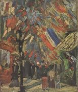 Vincent Van Gogh The Fourteenth of July Celebration in Paris (nn04) oil painting picture wholesale