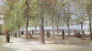 Vincent Van Gogh Lane at the Jardin du Luxembourg  (nn04) oil painting picture wholesale