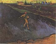 Vincent Van Gogh The Sower:Outskirts of Arles in the Background (nn04) oil painting picture wholesale