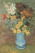 Vincent Van Gogh Vase wtih Daisies and Anemones (nn04) oil painting picture wholesale