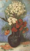 Vincent Van Gogh Vase with Carnations and Othe Flowers (nn04) oil painting picture wholesale