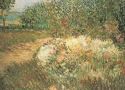 Vincent Van Gogh Corner of Voyer d'Argenson Park at Asnieres (nn04) oil painting picture wholesale