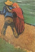 Vincent Van Gogh Two Lovers (nn04) oil painting picture wholesale