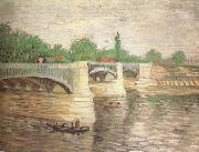 Vincent Van Gogh The Seine with the Pont de la Grande Jatte (nn04) oil painting picture wholesale