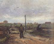 Vincent Van Gogh Outskirts of Paris (nn04) oil painting picture wholesale