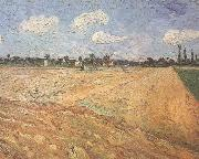 Vincent Van Gogh Ploughed Field (nn04) oil painting picture wholesale