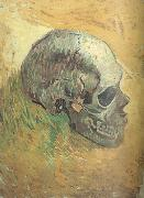Vincent Van Gogh Skull (nn04) oil painting picture wholesale