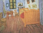 Vincent Van Gogh Vincent's Bedroom in Arles (nn04) oil painting picture wholesale