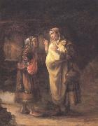 Willem Drost Ruth declares her Loyalty to Naomi (mk33) oil painting artist
