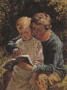 William Bromley The Lesson (mk37) oil painting picture wholesale