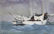 Winslow Homer Key West:Hauling Anchor (mk44) oil painting picture wholesale